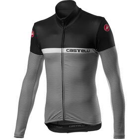 Castelli Marinaio Bluza rowerowa z zamkiem błyskawicznym Mężczyźni, black/silver grey